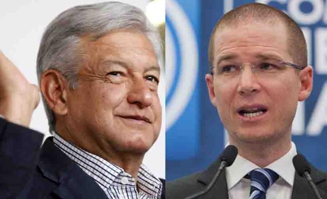 La contienda presidencial  es entre Obrador y yo: Anaya