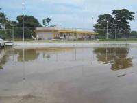 Obras infladas de mala  calidad del alcalde Javier Cabrera Sandoval