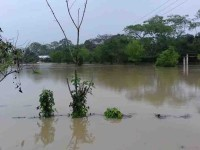 Habitantes de los puyacatengos  aún se mantienen entre el agua