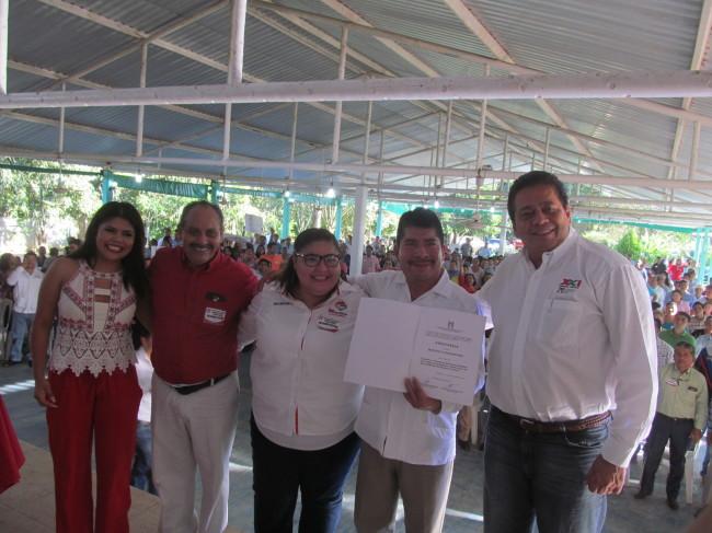 PRI designó candidato a la alcaldía en Jalpa