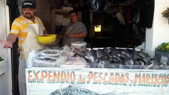 A la baja venta de pescados y mariscos en plena Cuaresma