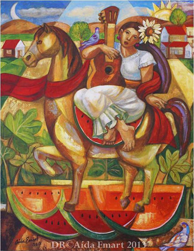 Exhiben legado de María Izquierdo