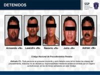 Detienen a 5  por secuestro;  logran rescatar a víctima
