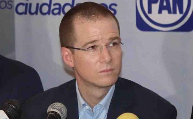 'Si Anaya gana presidencia,  el titular de Segob sería  designado por PRD o MC'