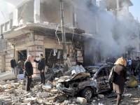 Centenar de muertos por bombardeos
