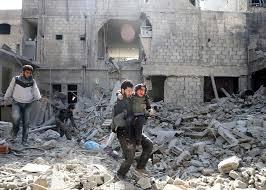 Macron y Merker solicitan una tregua para Siria