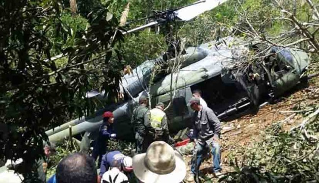 Se estrellan helicópteros militares en Francia