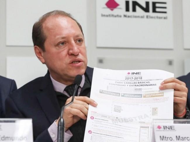 Destina el INE 3 mil mdp para material electoral y mecanismos de seguridad