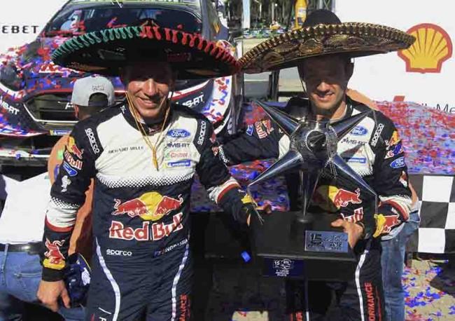 Ogier vuelve a  ganar en México