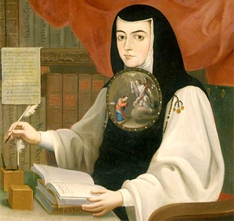 Sor Juana Inés de la Cruz; tributo sin huesos