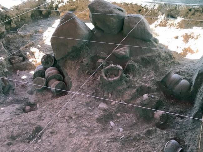 Descubren extenso vestigio mesoamericano