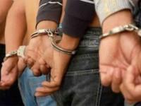 Detienen a 9 personas  con armas y droga