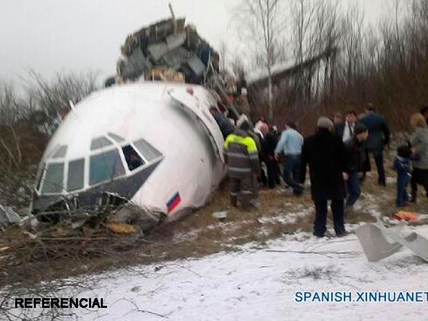 Se estrella avión ruso en Siria