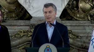 Lo peor ya pasó': Macri