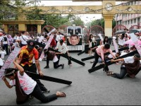 Protestan contra  Rodrigo Duterte