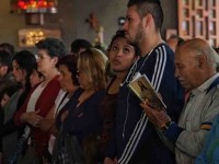Rezan en Basílica  por año electoral