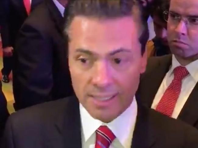 No me voy a meter en  la elección: Peña Nieto