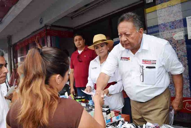Morena le apuesta a la civilidad política: Beltrán