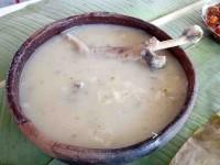 Uliche es la exquisita comida  de las familias chontales