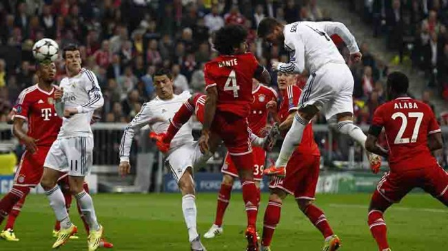 Madrid-Bayern en semis de Champions