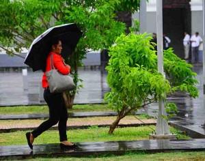 Posible lluvia para Tabasco