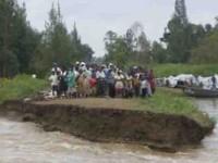 Riadas y lluvias azotan la región
