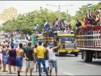 Marcha multitudinaria contra Daniel Ortega