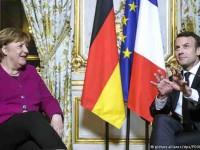 Van juntos Merkel y Macron en la UE