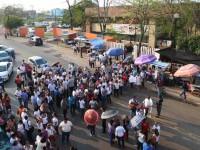 Enloquecen maestros la vialidad en Villahermosa