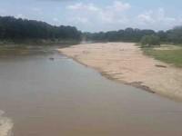 Se secan los ríos en la Sierra por falta de lluvias