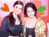 Selena chulea a Aislinn Derbez