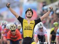 Battaglin vuelve al  podio en el Giro