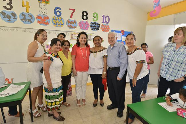 Dignifican condiciones de  familias de Macuspana