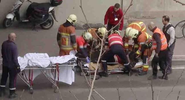 Pistolero mata a tres en Bélgica