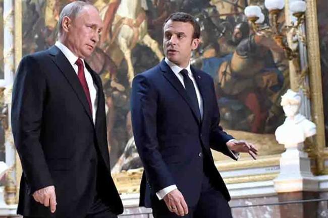 Putin y Macron continúan acuerdo nuclear con Irán