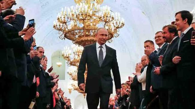 Putin asume su cuarto mandato