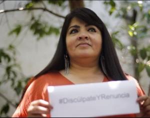 Alista Nestora Salgado  denuncia contra Meade