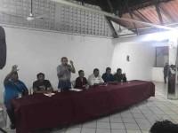 Garantías de crecimiento ofrece  Beltrán Tenorio a los ambulantes