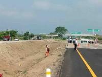 Cierran la autopista  Cárdenas-Coatzacoalcos