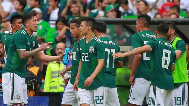 México no se mueve  del ranking FIFA