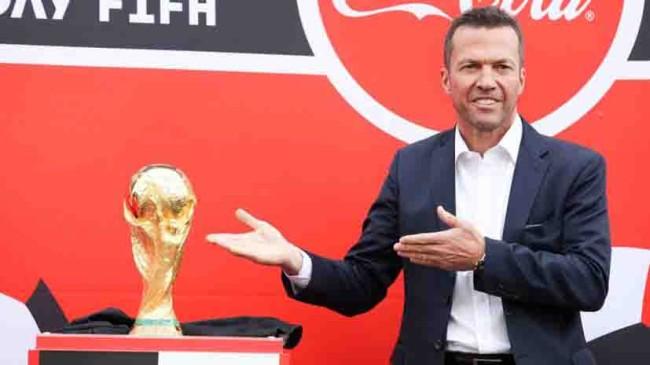 El trofeo ya   está en Moscú!
