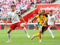 Polonia golea y  se declara  lista para el Mundial