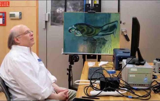 Descubren hoja de periódico escondida en obra de Picasso