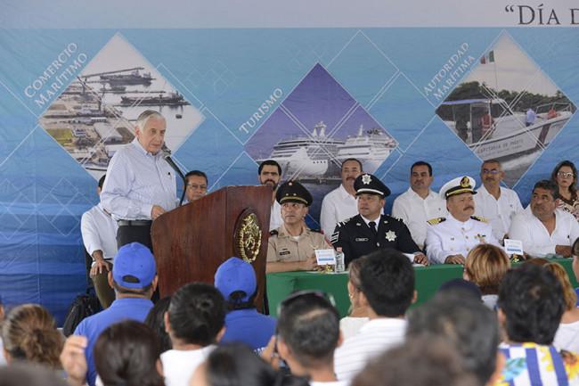 Valoran papel de la Marina  en tareas de seguridad