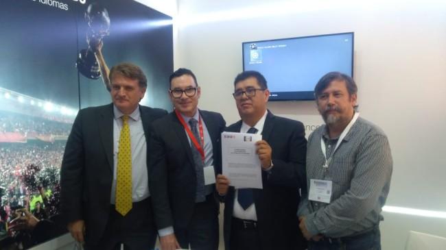Signan convenio de intercambio Red  México y France Media