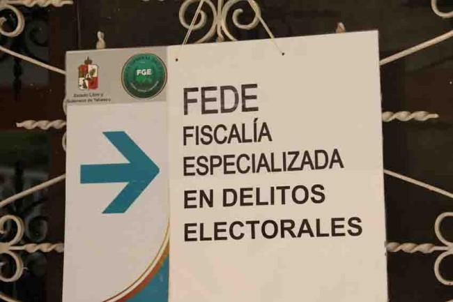 Denuncia Morena ante  FEDE compra de votos