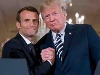 Siempre sí… Macron y  Trump se reúnen