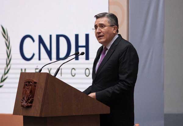 Inconstitucional, la Ley de  Comunicación Social: CNDH