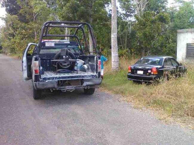 Recuperan vehículos con reporte de robo