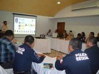 Evalúan mandos de SSP y Comité Ciudadano estrategias de seguridad
